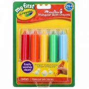 Giz de Cera Triangular Para Banho 5 Cores Crayola