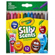 Giz de Cera Twistables Silly Scents 12 Cores Crayola