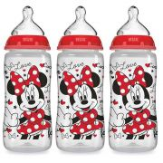 Kit 3 Mamadeiras First Choice Minnie +0m Nuk