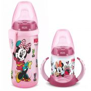 Kit Copo Active 300ml + Copo Treinamento 150ml Minnie By Romero Britto Nuk