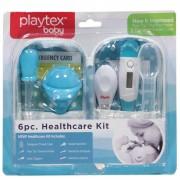 Kit Cuidado Saúde 6peças Azul Playtex