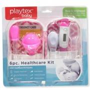 Kit Cuidado Saúde 6peças Rosa Playtex