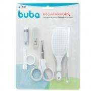 Kit Cuidados de Higiene Cinza Buba