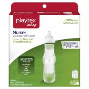 Kit 3 Mamadeiras Nurser 237-296ml +3meses Playtex