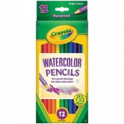 Lápis de Cor 12 Cores Aquarela Crayola