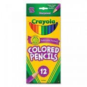 Lápis de Cor 12 Cores Crayola
