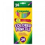Lápis de Cor 24 Cores Crayola