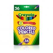 Lápis de Cor 36 Cores Crayola