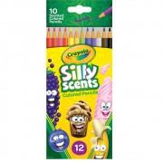 Lápis de Cor Silly Scients 12 Cores Crayola