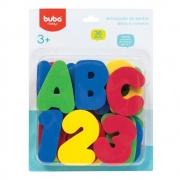 Letras e Números 36peças Buba