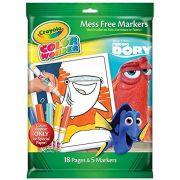Livro de Colorir Color Wonder Procurando Dory Crayola