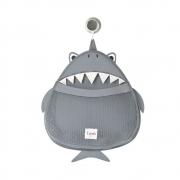 Organizador de Banho Tubarão 3 Sprouts