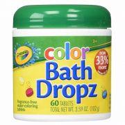 Pastilha De Banho Para Colorir Água 60 Tablets Crayola