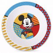 Prato Fundo de Aprendizagem Mickey By Romero Britto Nuk