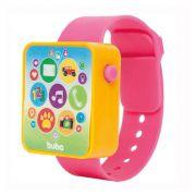 Relógio Musical Watch Rosa +12 Meses Buba