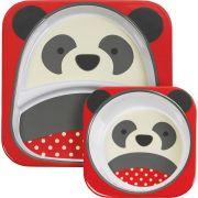 Set De Pratos Panda Skip Hop