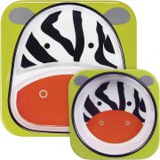Set De Pratos Zebra Skip Hop