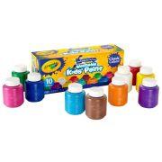 Tinta Lavável Washable Kids Paint 10 Cores Crayola