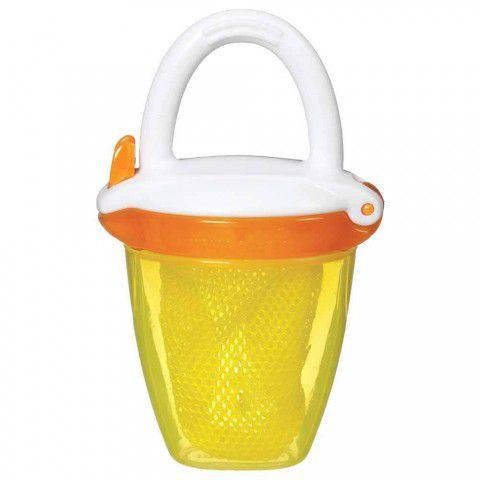 Alimentador Para Bebês Com Tampa Amarelo Munchkin