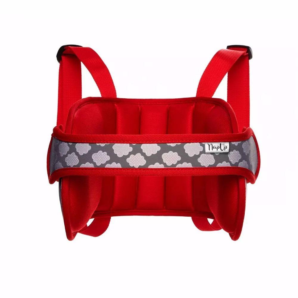 Apoio de Cabeça Para Viagem Vermelho Nap Up