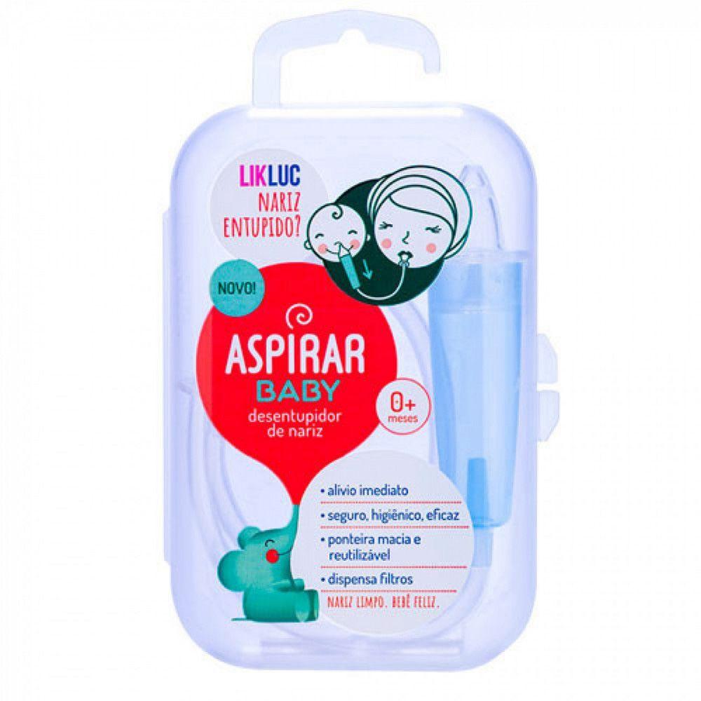 Aspirador Nasal Com Estojo Aspirarbaby Likluc