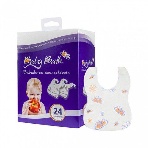 Babador Descartável c/24 Baby Bath