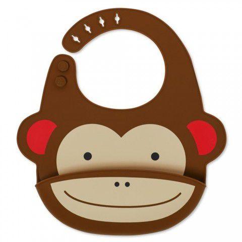Babador Silicone Macaco Skip Hop