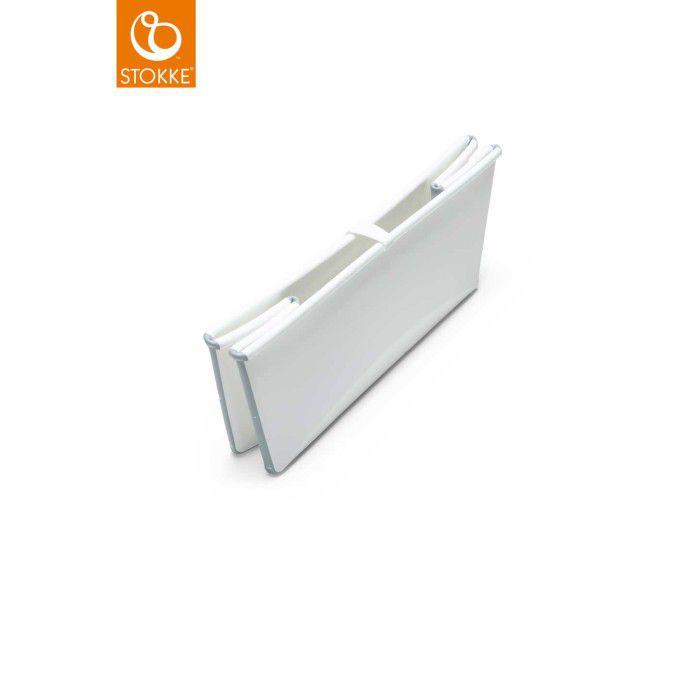 Banheira Dobrável Branca/Cinza Stokke
