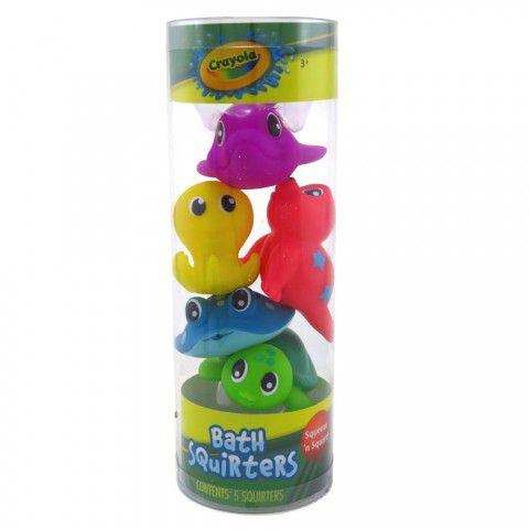 Brinquedos De Banho C/5 Crayola