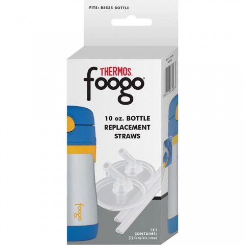 Canudos Para Reposição Foogo C/2 Thermos