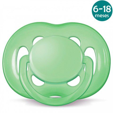 Chupeta Freeflow 6-18meses Verde Philips Avent
