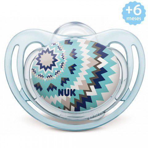 Chupeta Freestyle +6meses Azul Clean Nuk
