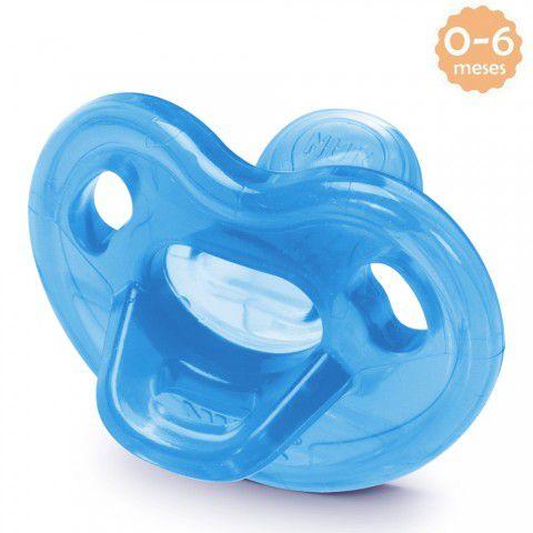 Chupeta Genius Soft 0-6meses Azul Nuk