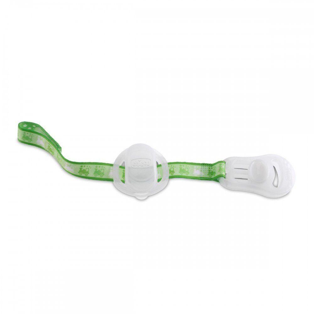 Clip Protetor Para Chupetas Lumi Verde Chicco