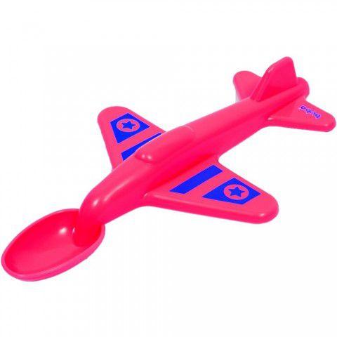 Colher Avião Vermelha Buba