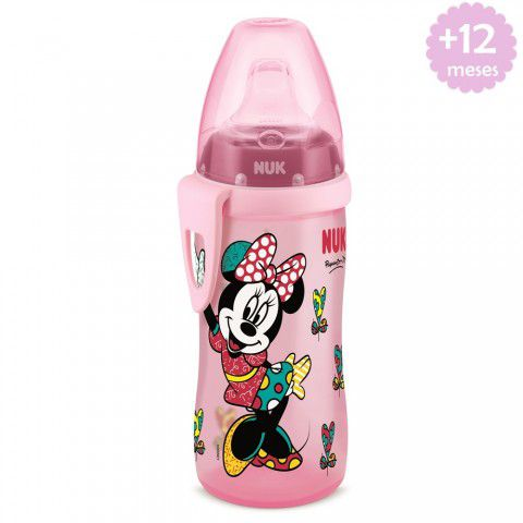 Copo Active Cup 300ml + 12m Minnie By Romero Britto Nuk