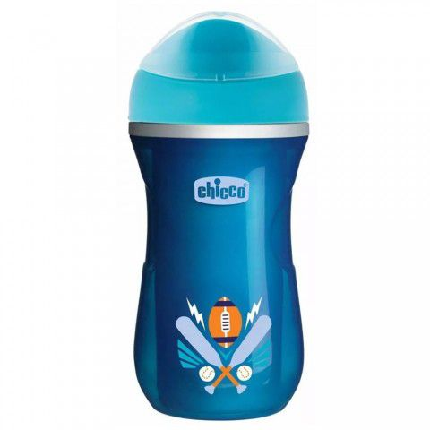 Copo Active Cup Termico Azul 266ml + 14m Chicco