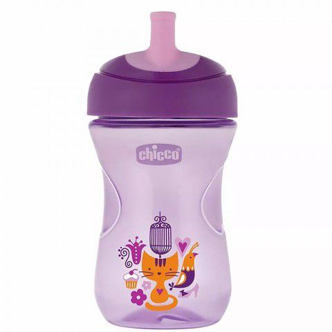 Copo Advanced Cup Roxo 266ml + 12m Chicco