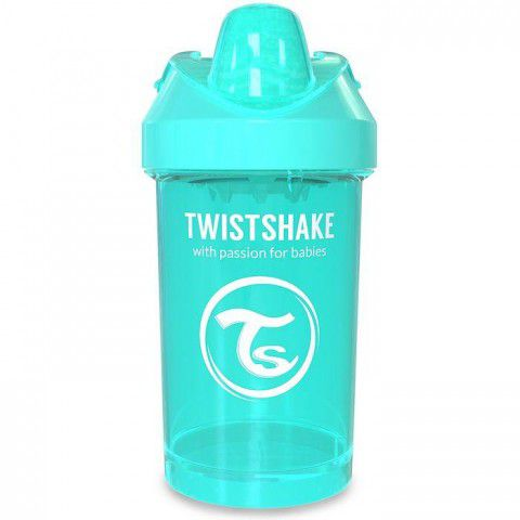 Copo Crawler Cup 300ml +8m Azul Piscina Twistshake