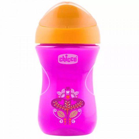 Copo Easy Cup Rosa Morango 266ml +12m Chicco