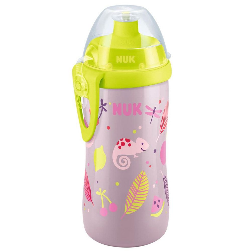 Copo Junior Cup 300ml +36meses Rosa Animais Nuk