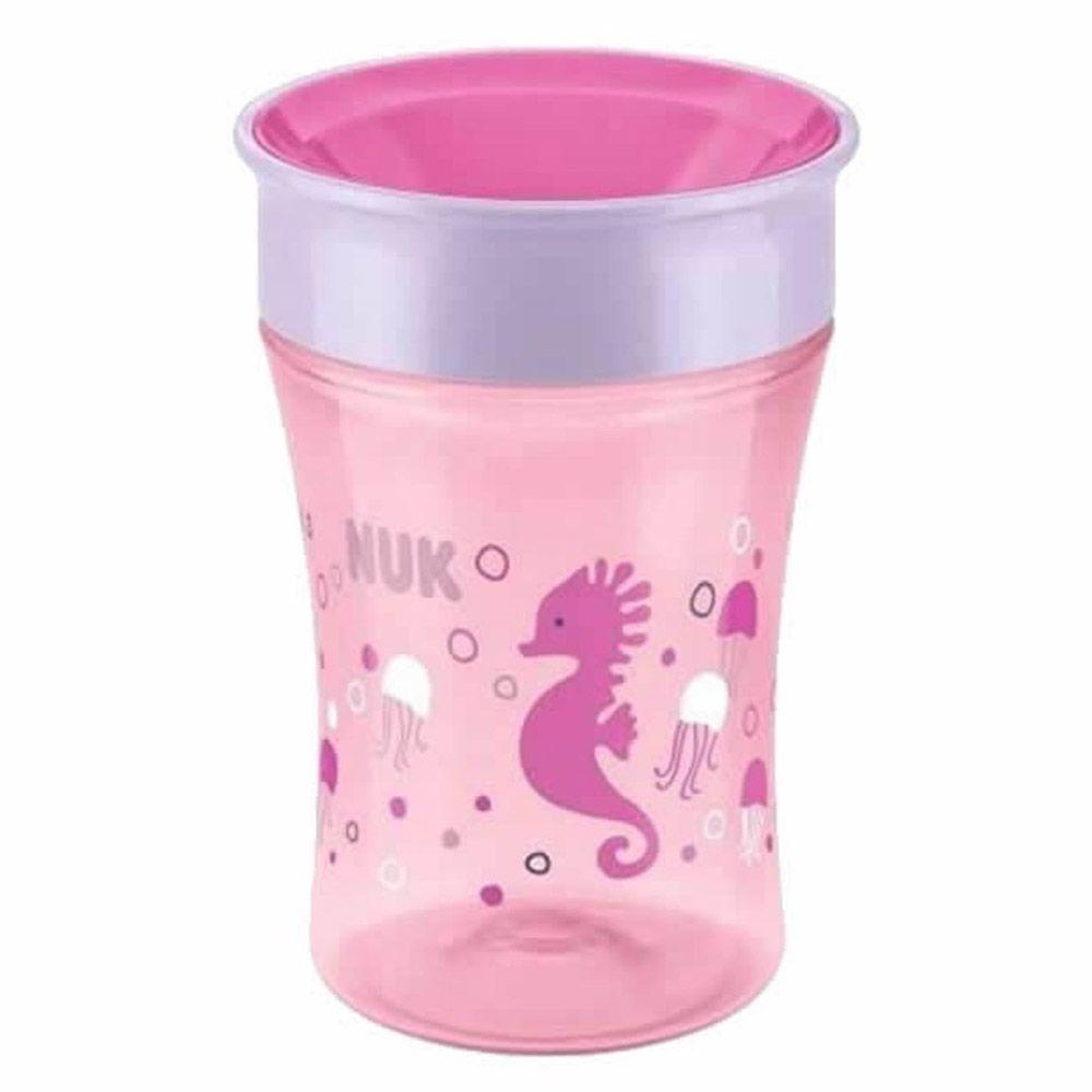 Copo Magic Cup 360º 230ml +8meses Rosa Nuk