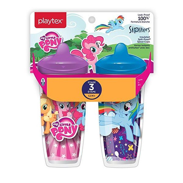 Copo Térmico My Little Pony 266ml +12Meses C/2 Playtex