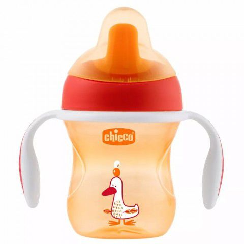 Copo Training Cup 200ml  +6m Laranja Chicco