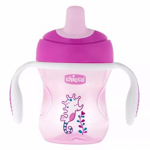 Copo Training Cup 200ml  +6m Rosa Chicco