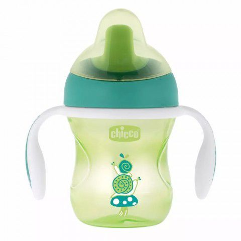 Copo Training Cup 200ml  +6m Verde Chicco