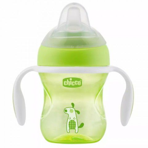 Copo Transition Cup 200ml +4m Verde Chicco