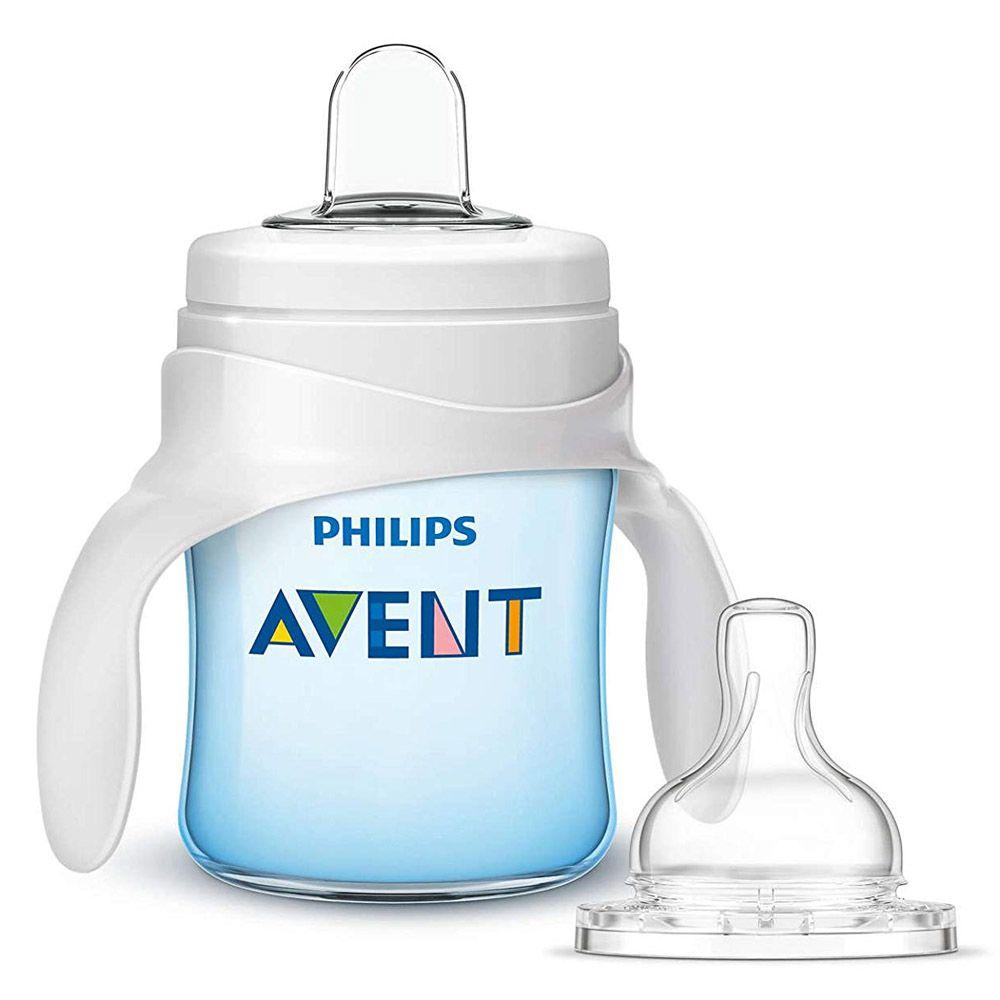 Copo Treinamento Classic 125ml +4 Meses Azul Philips Avent