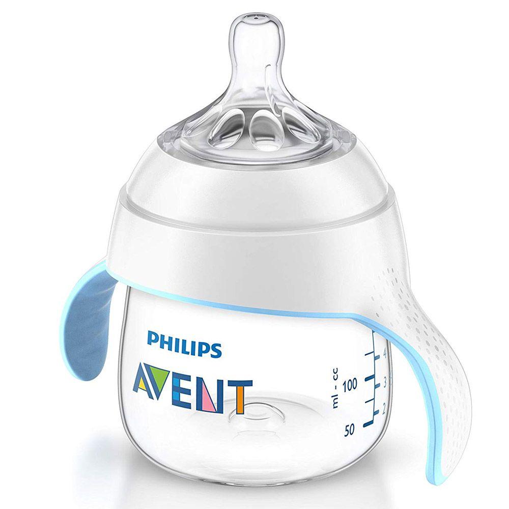 Copo Treinamento Pétala 150ml +4 Meses Transparente Philips Avent