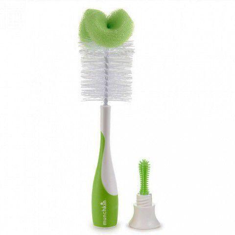 Escova Para Mamadeira Verde Munchkin